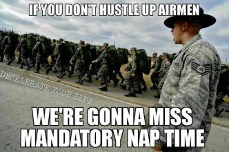 Air-Force-basic-training-nap-time-funny-military-memes