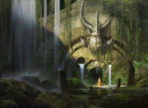 golgari_guildgate___magic_the_gathering_by_eytanzana-d6vviz8
