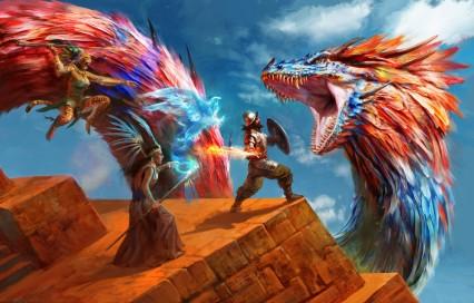 antonio-j-manzanedo-dragon-vs-aventureros-manzanedo-2