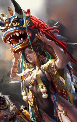 amber-ye-high-priestess