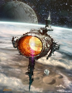 james-grant-portal-starship-scifi-jgranite