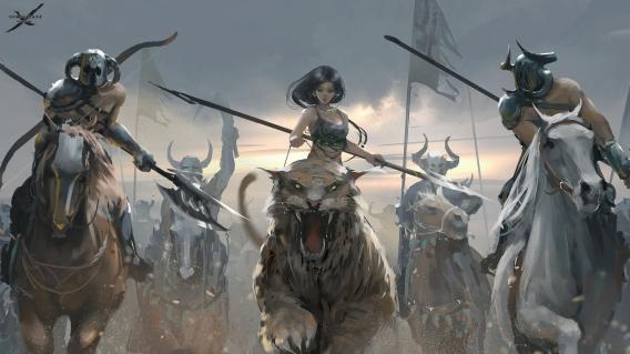 battle_by_wlop-d8w7pvt1