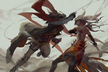 fight___sketch_for_patreon_by_shilin-d9eu0bi